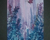 aceo SFA art painting fantasy butterfly ref 243