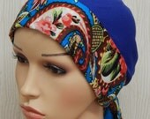 Cancer hair loss caps, chemotherapy bonnet, chemo head scarves, cancer hat, natural fabric head wrap, sugical cap, chemo head covering