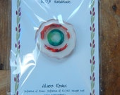 Refrigerator Magnet 100% Recycled Upcycled Glass Handmade Magnets