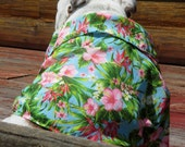 Order ENGLISH BULLDOG Hawaiian Shirt, Hawaiin Dog Shirt, Pet Clothes,  Bulldog Pool, Lightweight, Dog Costume, Bulldog, Hawaiin Shirt dog