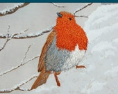 How to Embroider a Robin PDF Book by Ruth Norbury