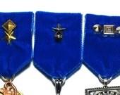 Steampunk Medal // Steampunk Supply // VELVET Cosplay Medals // Optional Studding