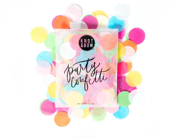 Multicolor Party Mix Bag / Party Confetti