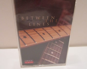 Vintage Cassette Tape - Jazz Cafe - Between The LInes - Jazz Music