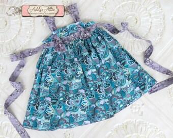 Girls Knot Dress, Fall Dress, Toddler Dress, Girls Dress, Fall Knot Dress, Thanksgiving Dress, Back to School Dress