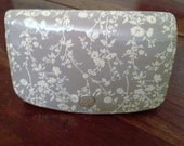 Ladies Nina Ricci Billfold with  Patent embossed Floral Print