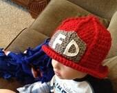 FALL  SALE Firefighter hat