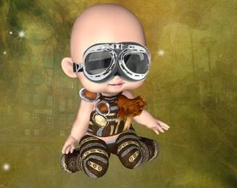 Steampunk Babies 1