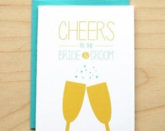 Cheers - Wedding Card