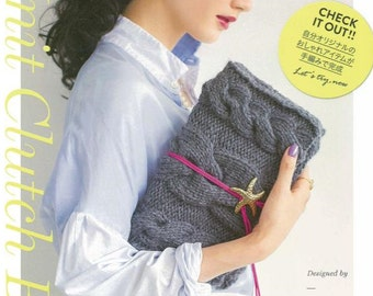 KNIT Clutch BAG Japanese Craft Book
