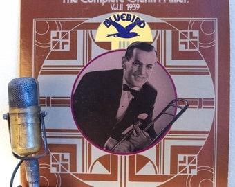 "ON SALE Glenn Miller Vinyl Record Album 1930s American Big Band Swing ""The Complete Glenn Miller, Vol.2 : 1939 (1976 Rca/Bluebird w/""In The"
