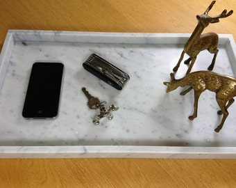 Marble tray / platter - Carrara