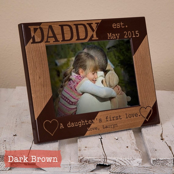 Personalized Dad Picture Frame From Daughter Daddy A