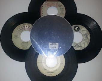 Decorative Wall Mirror - Vinyl Record Mirror - Vintage 45 Records