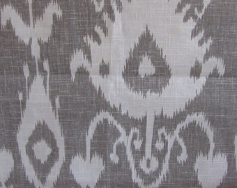 BRISTOW SMOKE ikat home decor print multipurpose fabric by Kravet