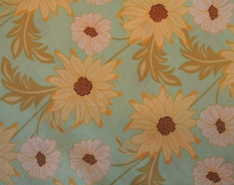 Meadowsweet, Daisy Path by Michael Miller, Cotton Quilting Fabric, Sold by the Yard