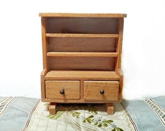 Miniature Dol-Toi Welsh Dresser Sideboard Buffet