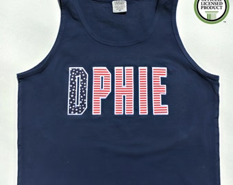 Patriotic DPHIE applique tank