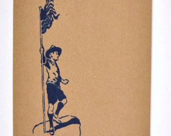 Vintage Boy Scout Stencil