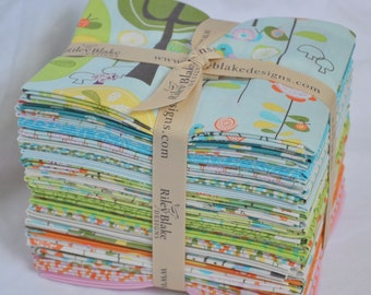 Happier 24 Fat Quarters Bundle by Deena Rutter for Riley Blake, 6 yards total