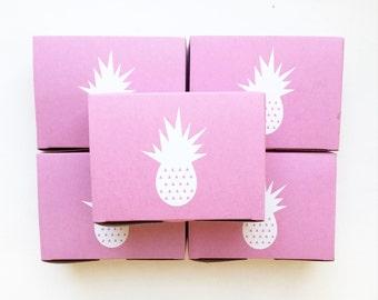 Pineapple Favor Box
