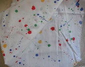 Vintage Fabric Color Splash    1yards  45 inches wide
