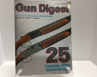 Gun Digest 1971 Silver Anniversary Deluxe Edition 25th Anniversary Gun Guide