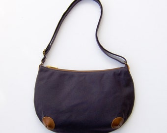 "Mini ""Round-the-World"" Bag - Dark Grey"