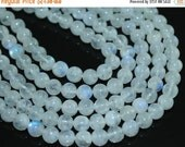 VALENTINE SALE 55% Bead, Rainbow Moonstone (natural), 7mm smooth round ball, C grade, Mohs hardness 6, Sold per 14-inch strand Sku7115/S