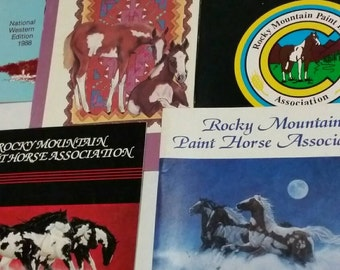 5 Rocky Mountain Paint Horse Association programs from the National Western Stock Show in Denver Colorado