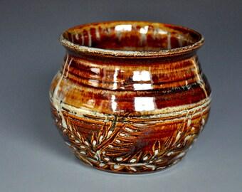 Pottery Bowl Ceramic Bowl Handmade Stoneware Bowl