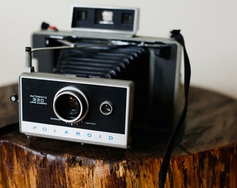 Polaroid 330 Land Camera. Polaroid Camera. Instant Film Camera.