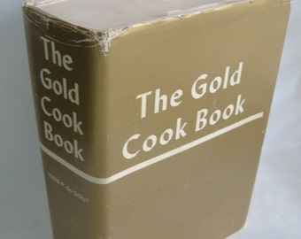 The Gold Cook Book, Louis P. Degouy, Hard Cover, Dust Jacket, 1960