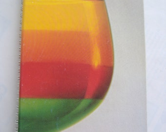 Joys of Jell-o Gelatin Cookbook, Hardcover, Spiral, 1981