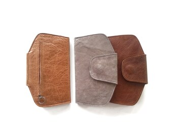 Leather wallet woman / women purse / soft leather / cash money / gift for her / women leather wallet / leather wallet women / leather purse