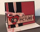 Anniversary Card - Love you Card - Valentine Card - Handmade card