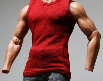 mc0291 Red Smart Vest for 1 : 6  1 / 6 Action Figure