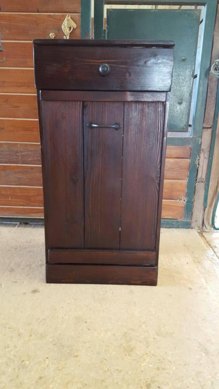 tilt out trash bin tilt out trash can kitchen trash bin. Black Bedroom Furniture Sets. Home Design Ideas