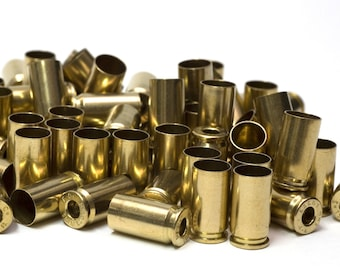 9mm Federal Field Brass Cases De-Primed and Polished 250 Count