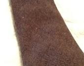 Vintage HUNT CLUB Tie Heather Brown Tie Wool
