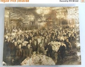 ON SALE Boy Scouts of America Silver Gelatin Print 1919 Convention Kaufmann and Fabry Chicago Illinois