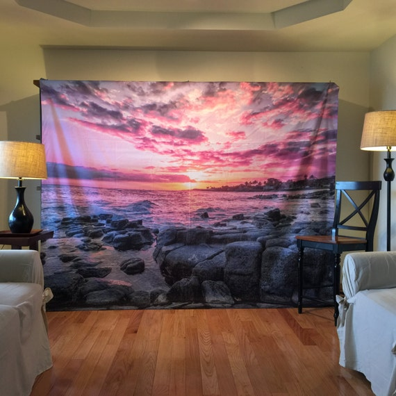 Tapestry Kauai Wall Hanging Nature Tapestry Kauai