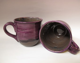 Purple 16-ounce mug