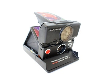 SALE Reskinned SX-70 Model 2 SLR Sonar Polaroid Camera - Film Tested Working