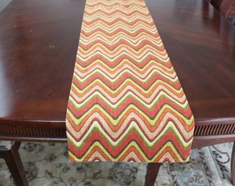"""Table runners, fabric by Waverly modern design,  72"""" x 12"""""""