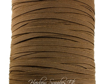 Brown Skinny Elastic 1/4 inch - for Baby Headbands - Hairbow Supplies, Etc.