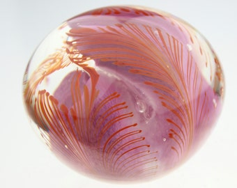 Abstract Glass Paperweight by Eric W. Hansen