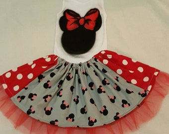 Minnie Mouse Skirt