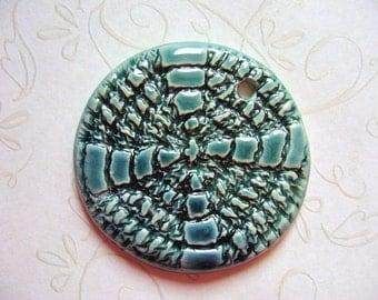 Lonely Meadows Ceramic Pendant