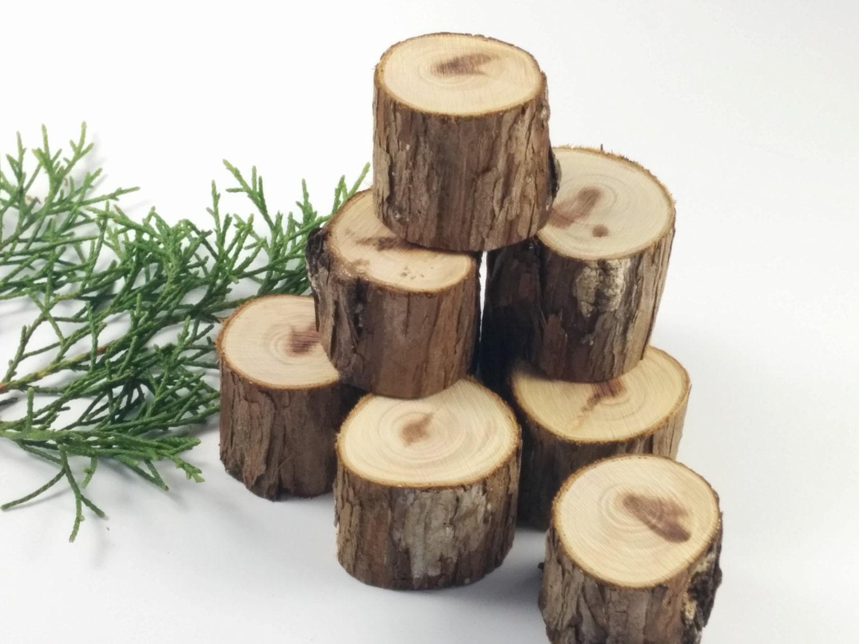 craft rounds cedar branch tree stumps craft rounds